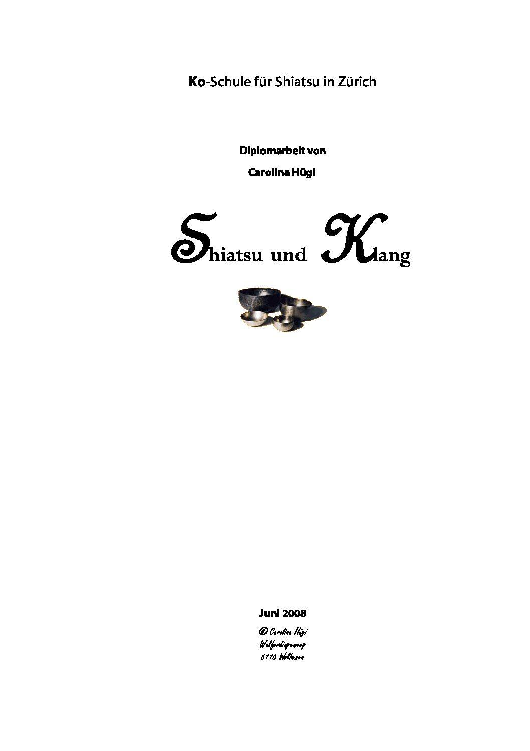Shiatsu und Klang (2008, Carolina Hügi)